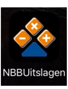 Installeer nu NBB-UitslagenApp op jouw smartphone of tablet!